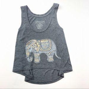 Fifth Sun - Elephant Tank Top - XS